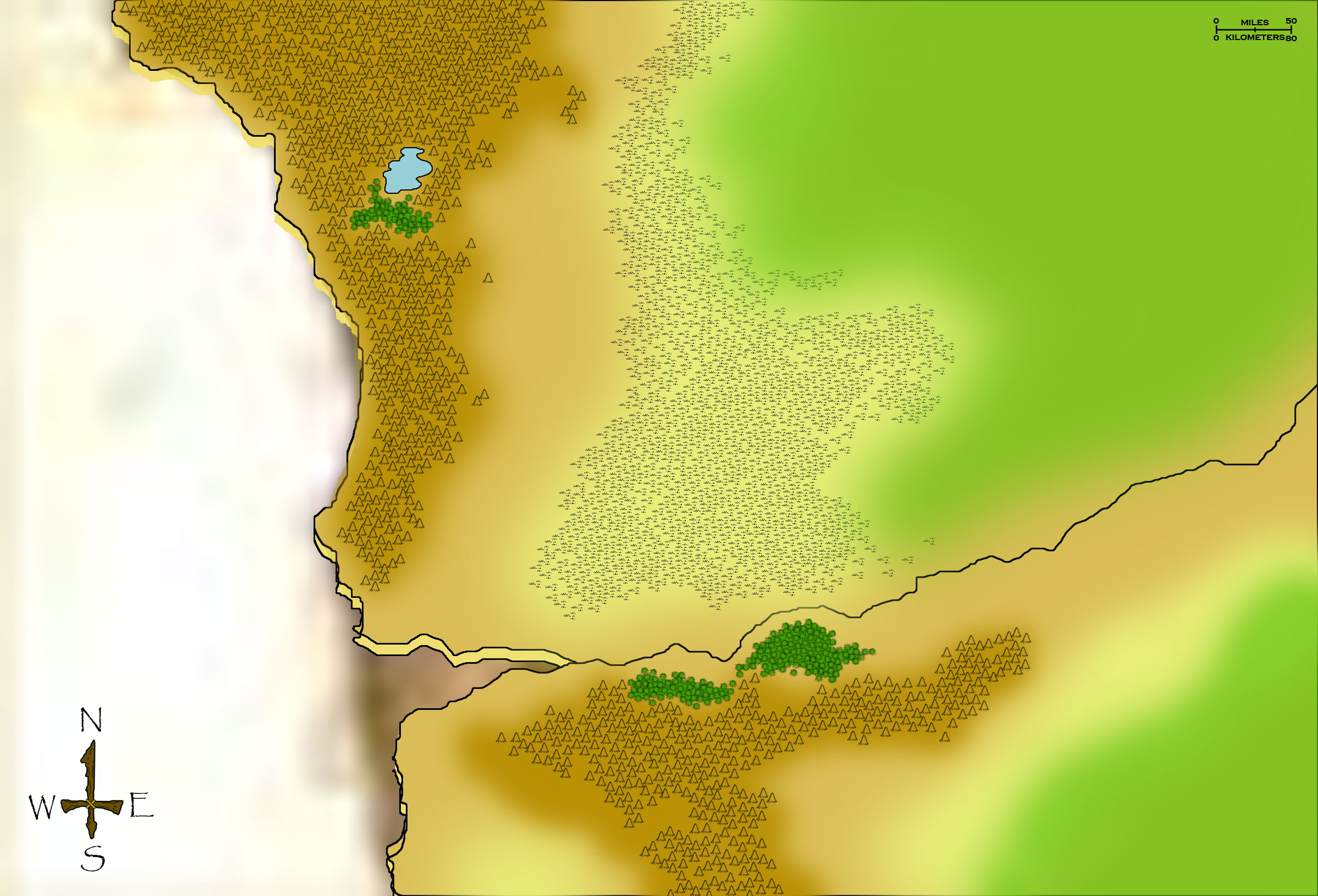 Athas World Map.The Athasian Cartographer S Guild
